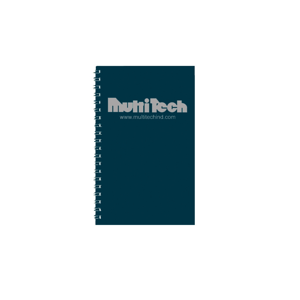 Academic Weekly Assignment Book with Blue Touche Cover 5 x 8 Inches