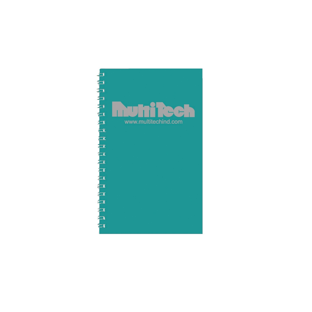 Daily Planner with Bright Green Leatherette Cover 5 x 8 Inches