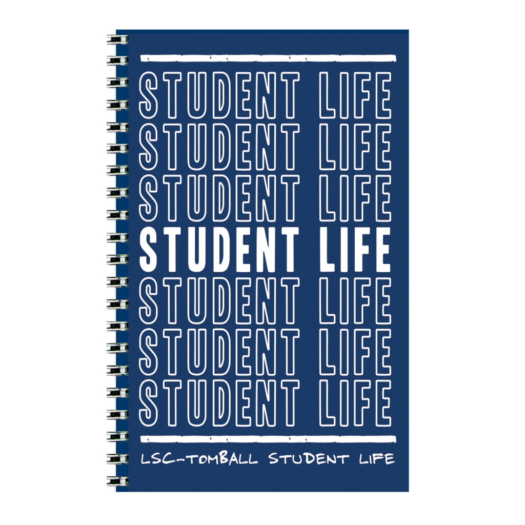 Custom Full-Color Cover Weekly Academic Planner with 4 Custom Full-Color Insert Pages 5 x 8 Inches
