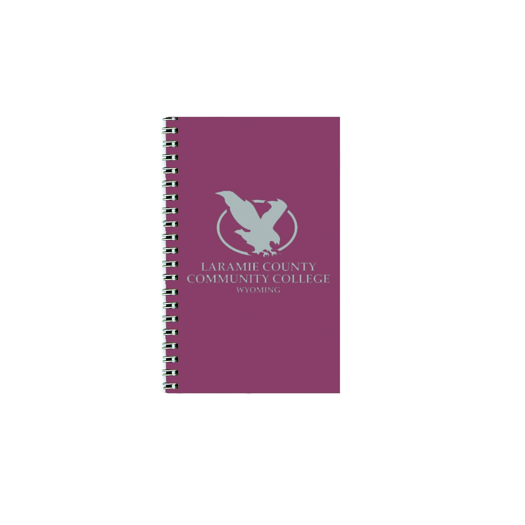 Imprinted Academic Weekly Planner with Red Leatherette Cover 5 x 8 Inches