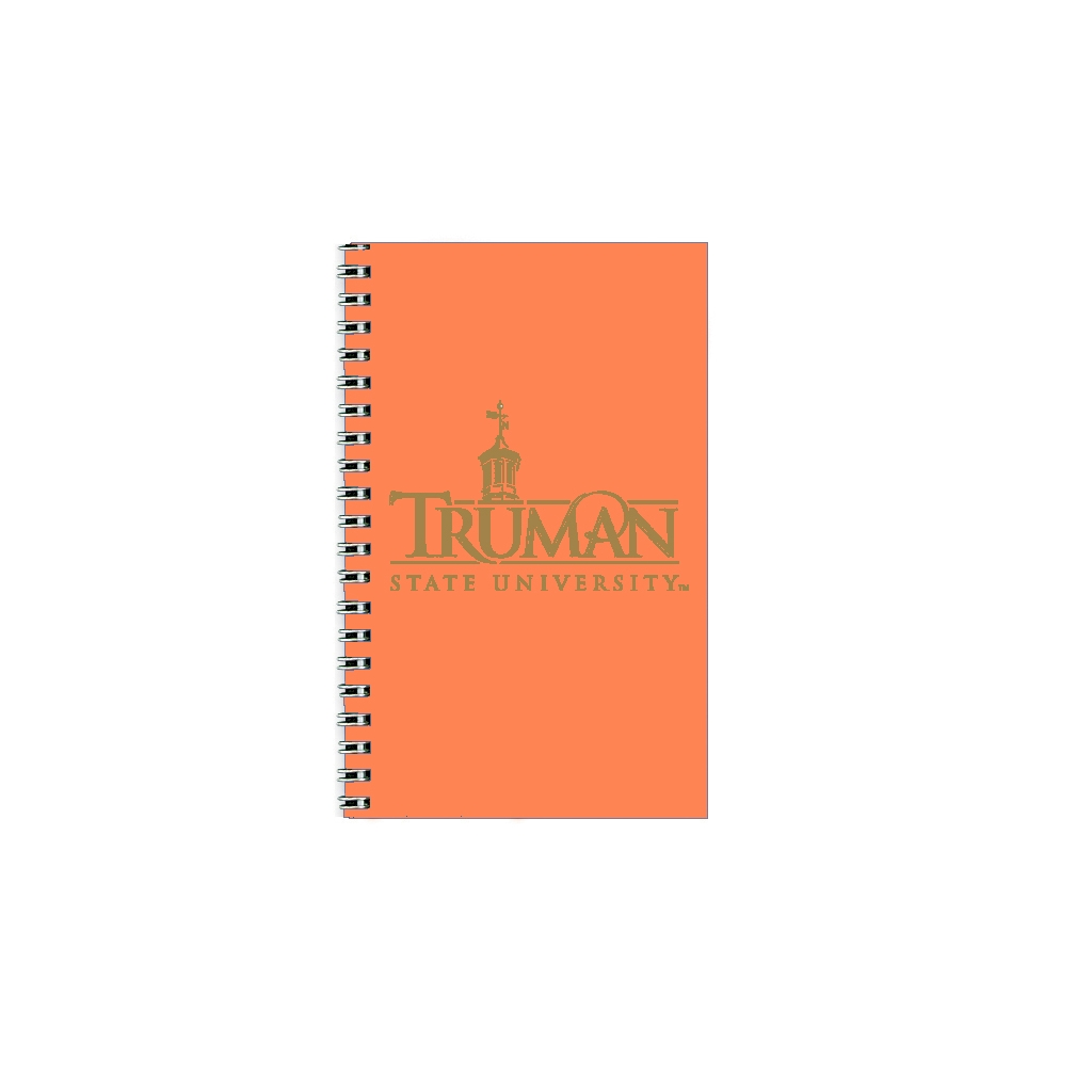 Imprinted Academic Weekly Planner with Purple Vinyl Cover 5 x 8 Inches