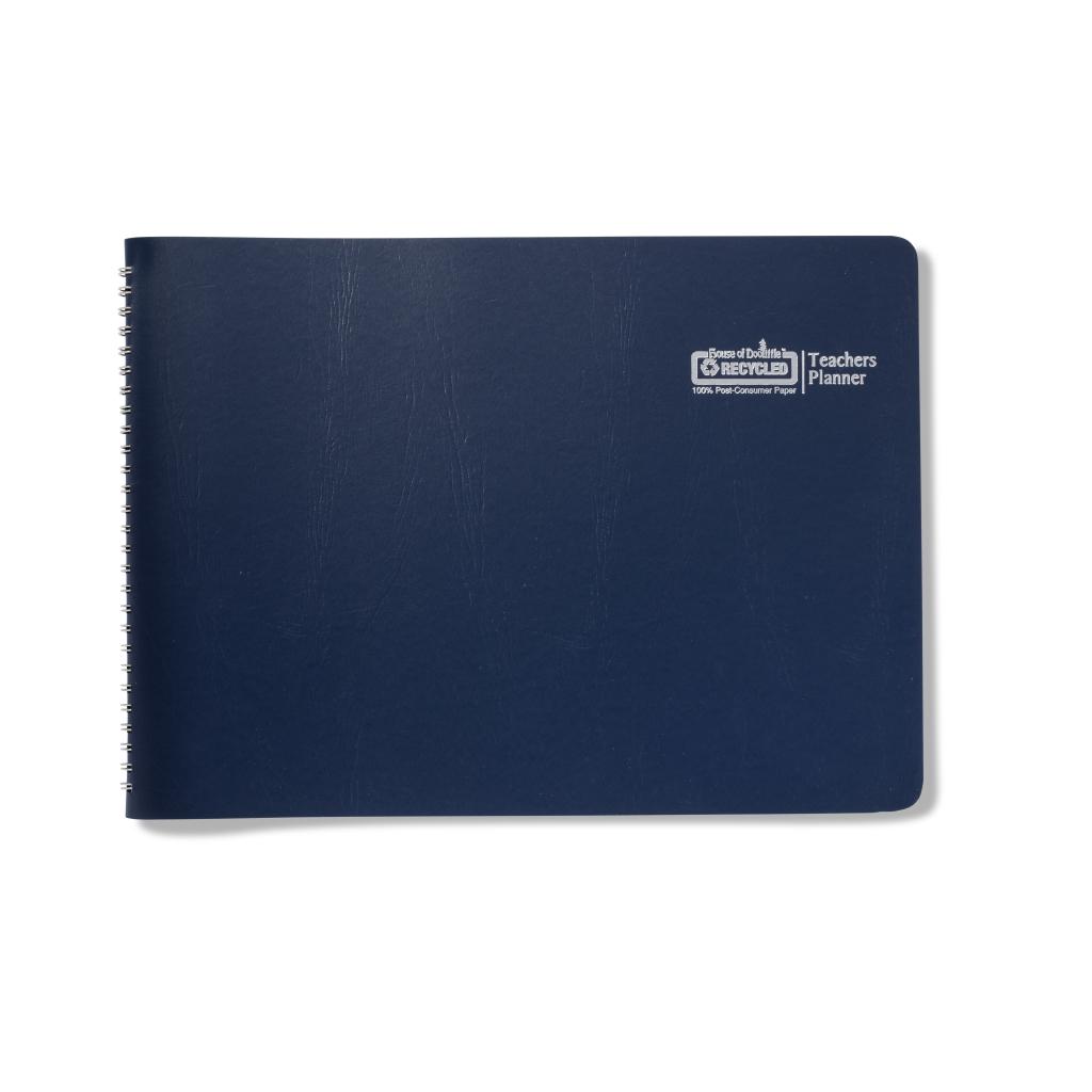Teachers Planner Blue 9.5 x 13 Inch