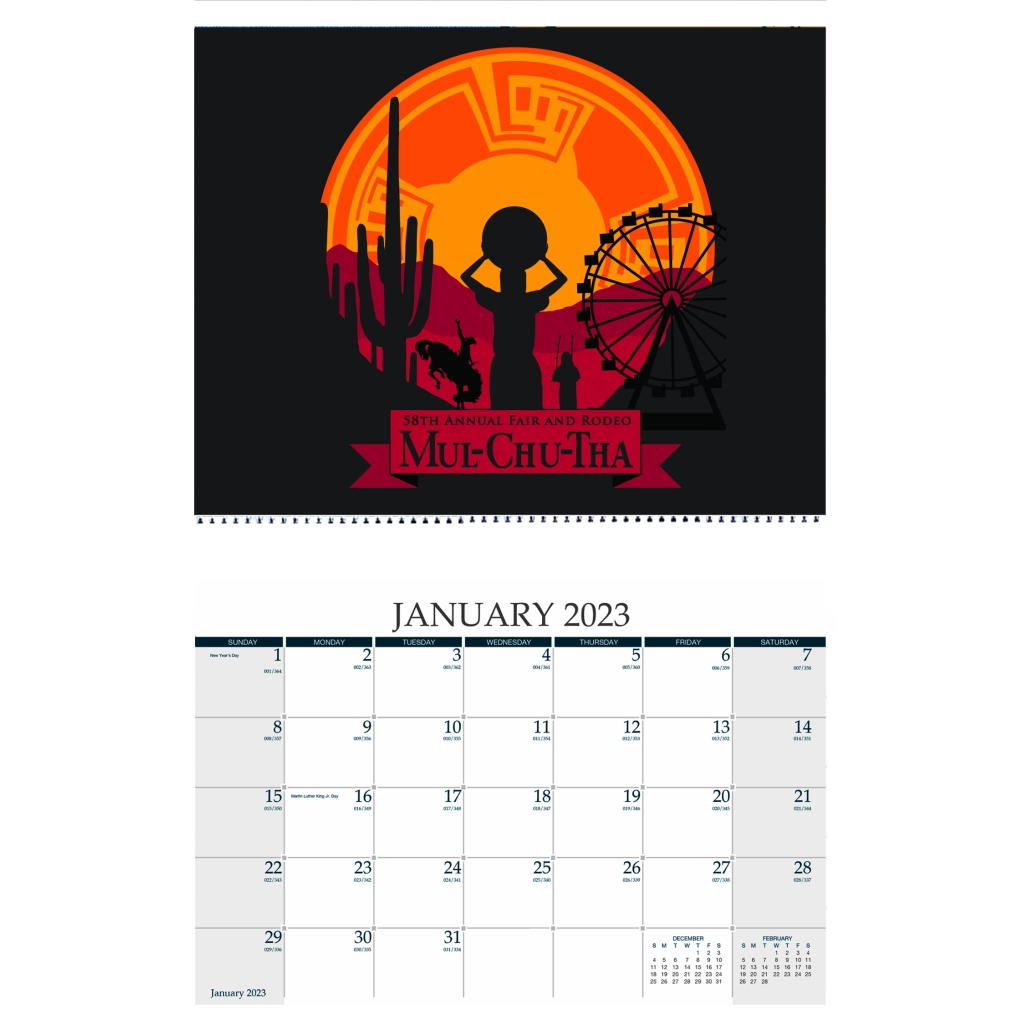 full color custom cover wall calendar 11 x 17 inches house of