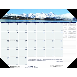 Executive Monthly Desk Pad Calendar 2020 24 x 19