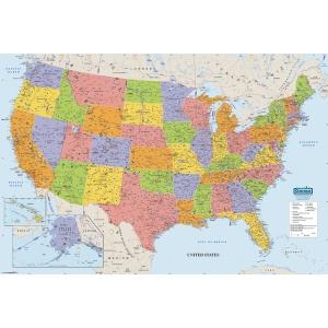 World Map 50 States.United States And World House Of Doolittle